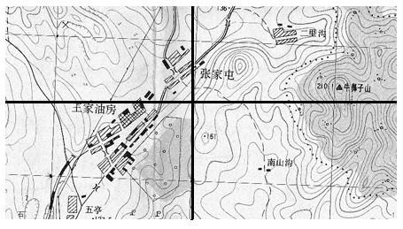 纸质地图分幅扫描及其矢量图形拼接的技术方案