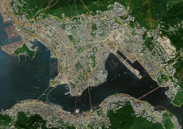 香港卫星地图 - gis软件_gps导航_高清卫星地图_地理
