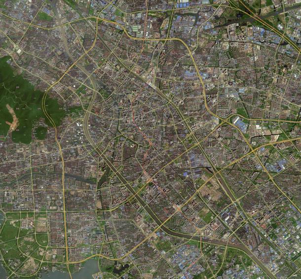 无锡卫星地图 - gis软件