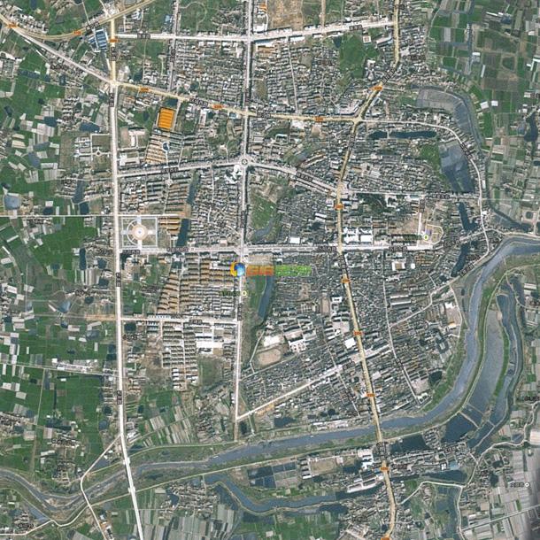 和县卫星地图